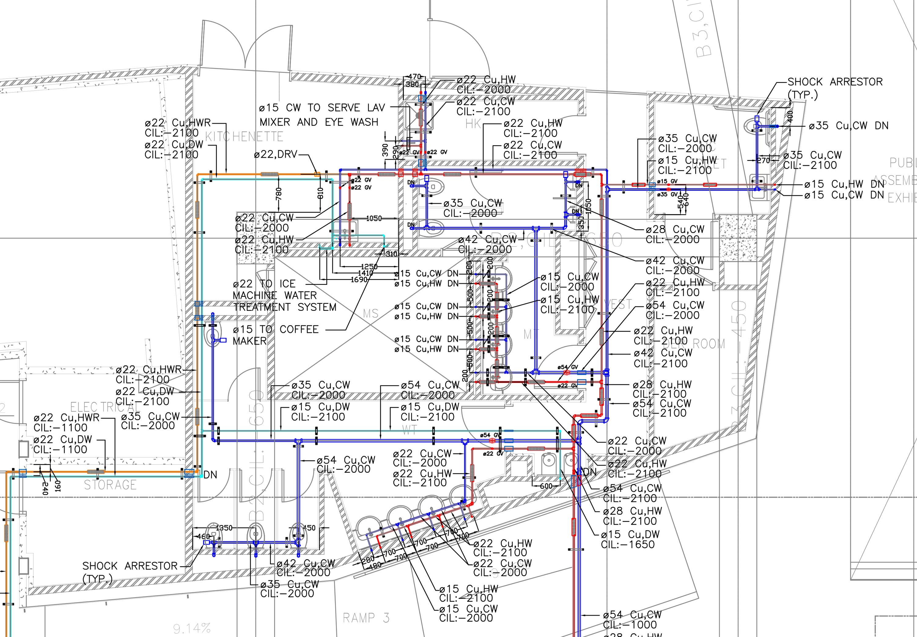 Vg Services Hvac Drawings Pictures Water Supplypdf